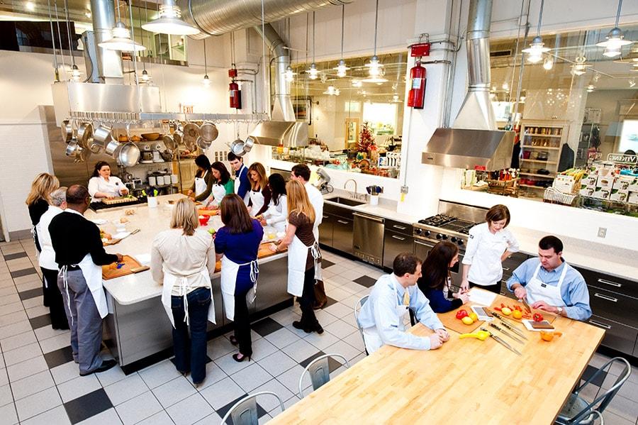 Viking School of Cooking Classroom Kitchen